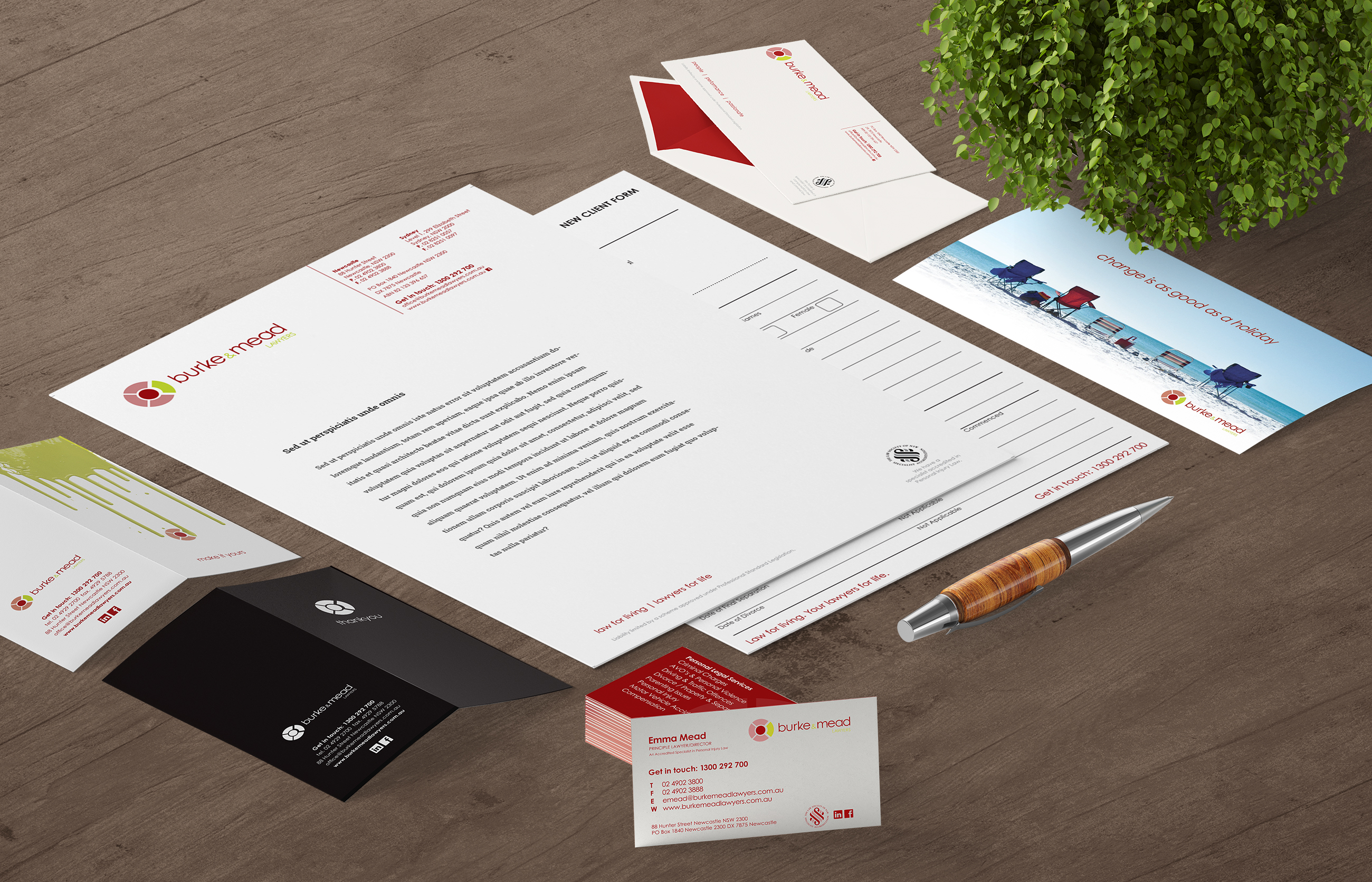 Burke & Mead Stationery
