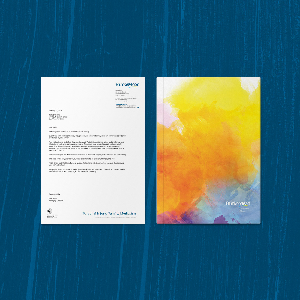 BurkeMead Letterhead Folder