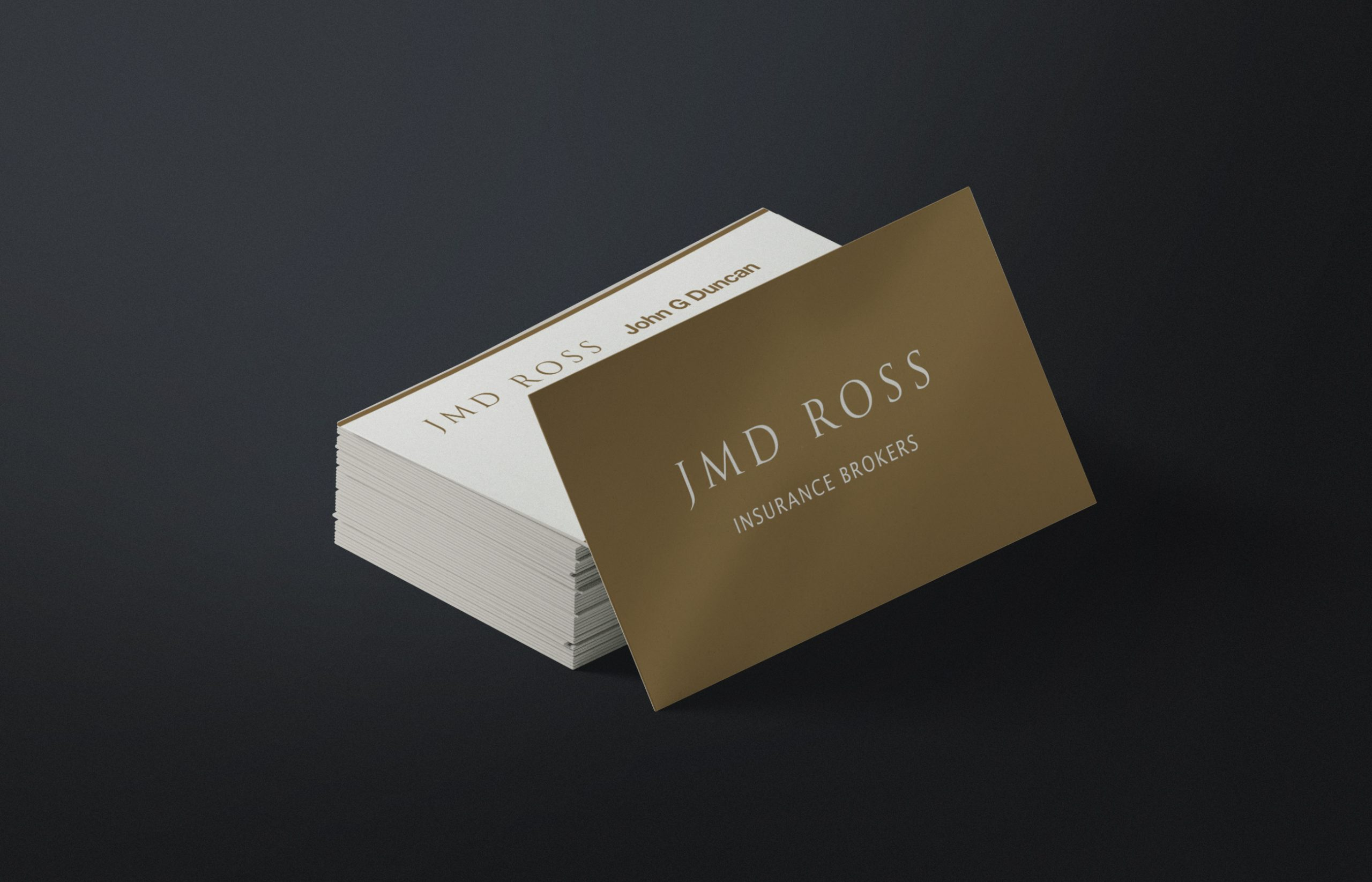 JMD Ross Business Cards