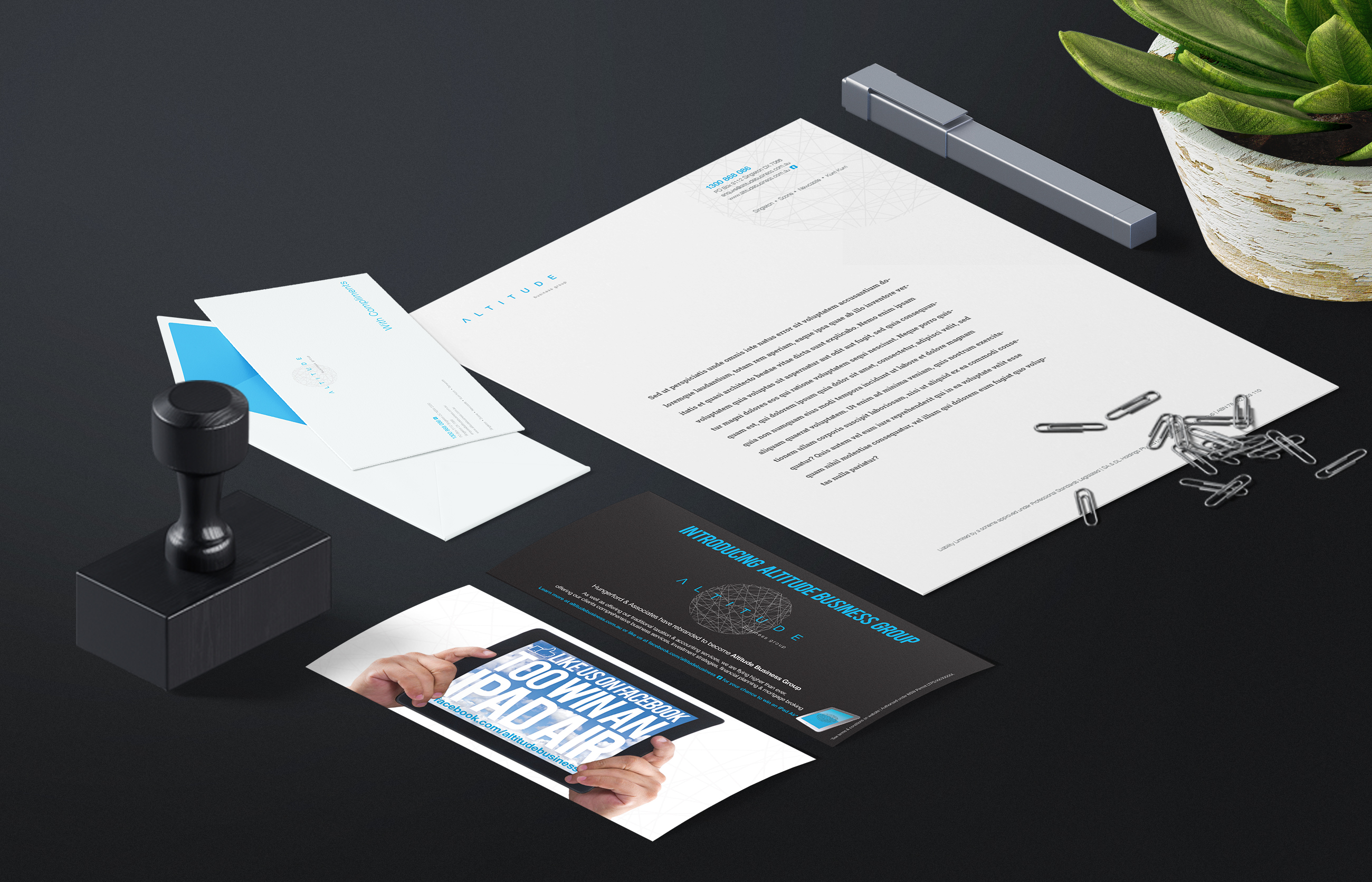 Altitude Business Group Stationery