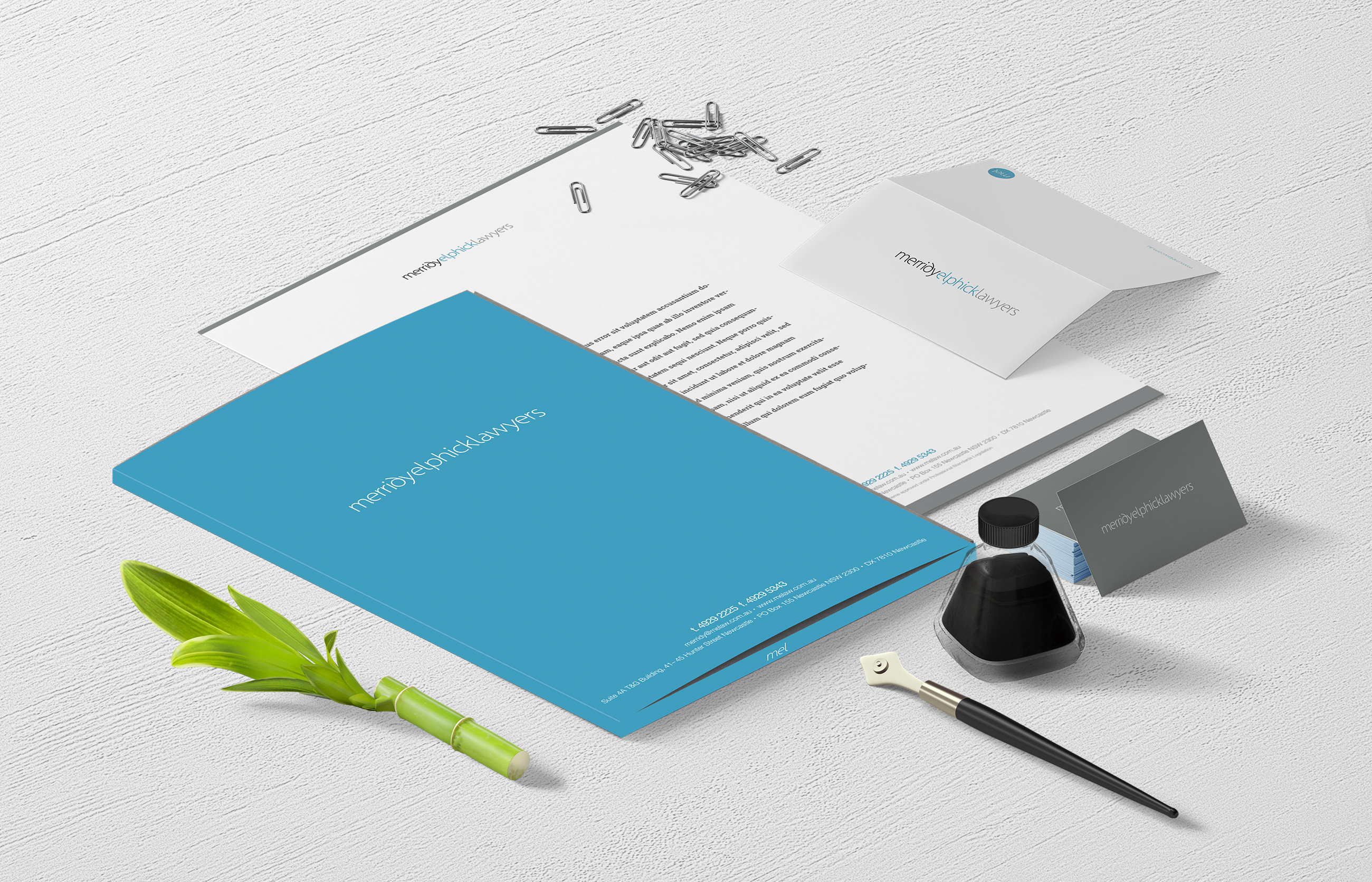 Merridy Elphick Lawyers Stationery