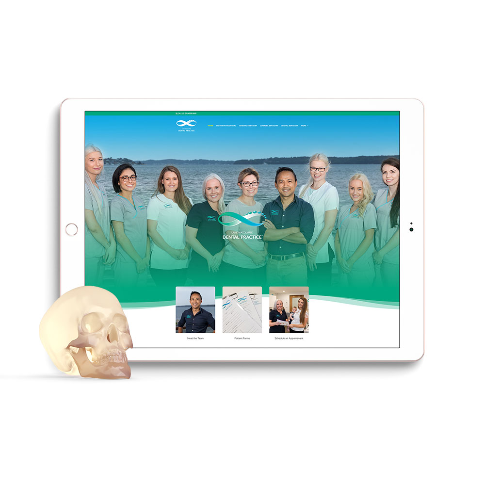 Lake Macquarie Dental Practice Website