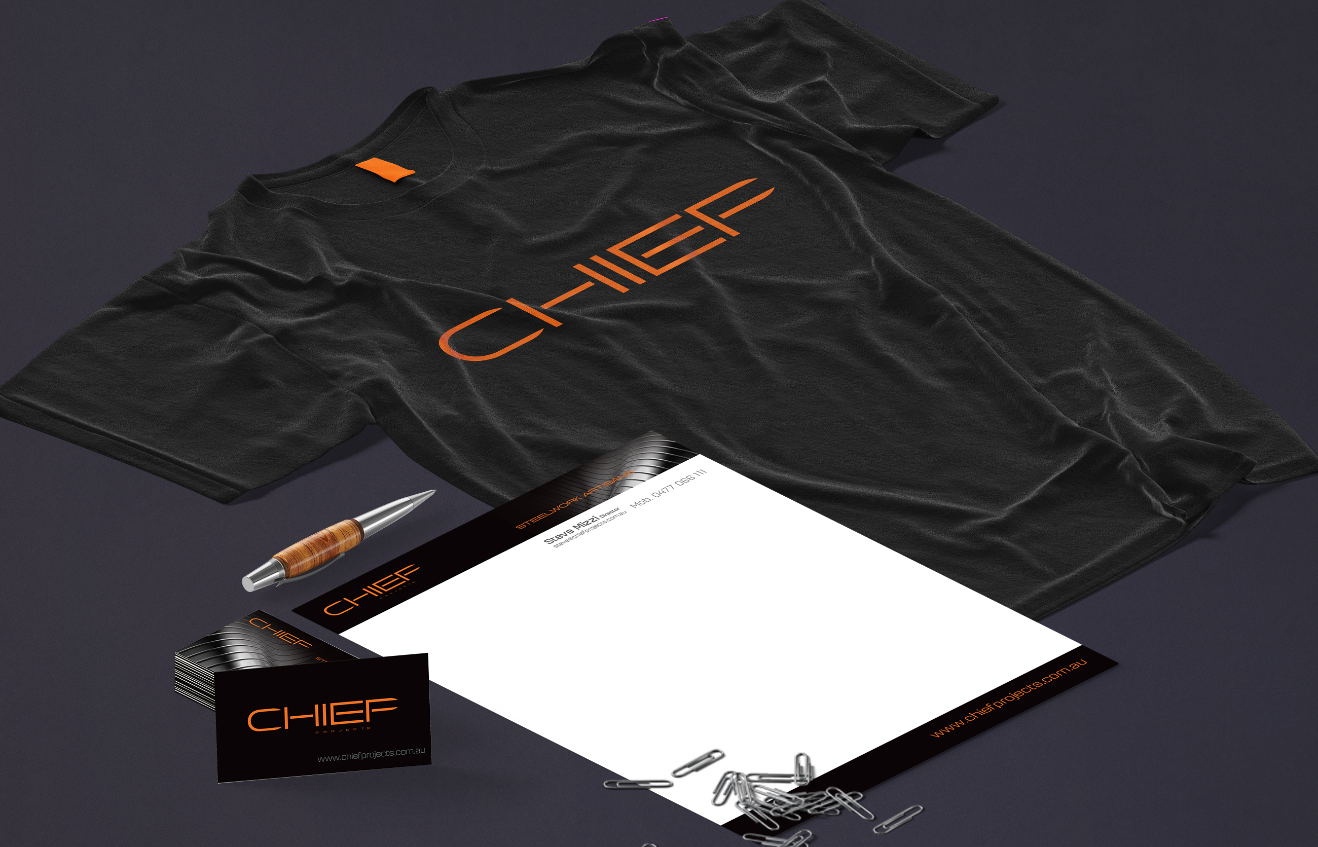 Chief Projects Stationery