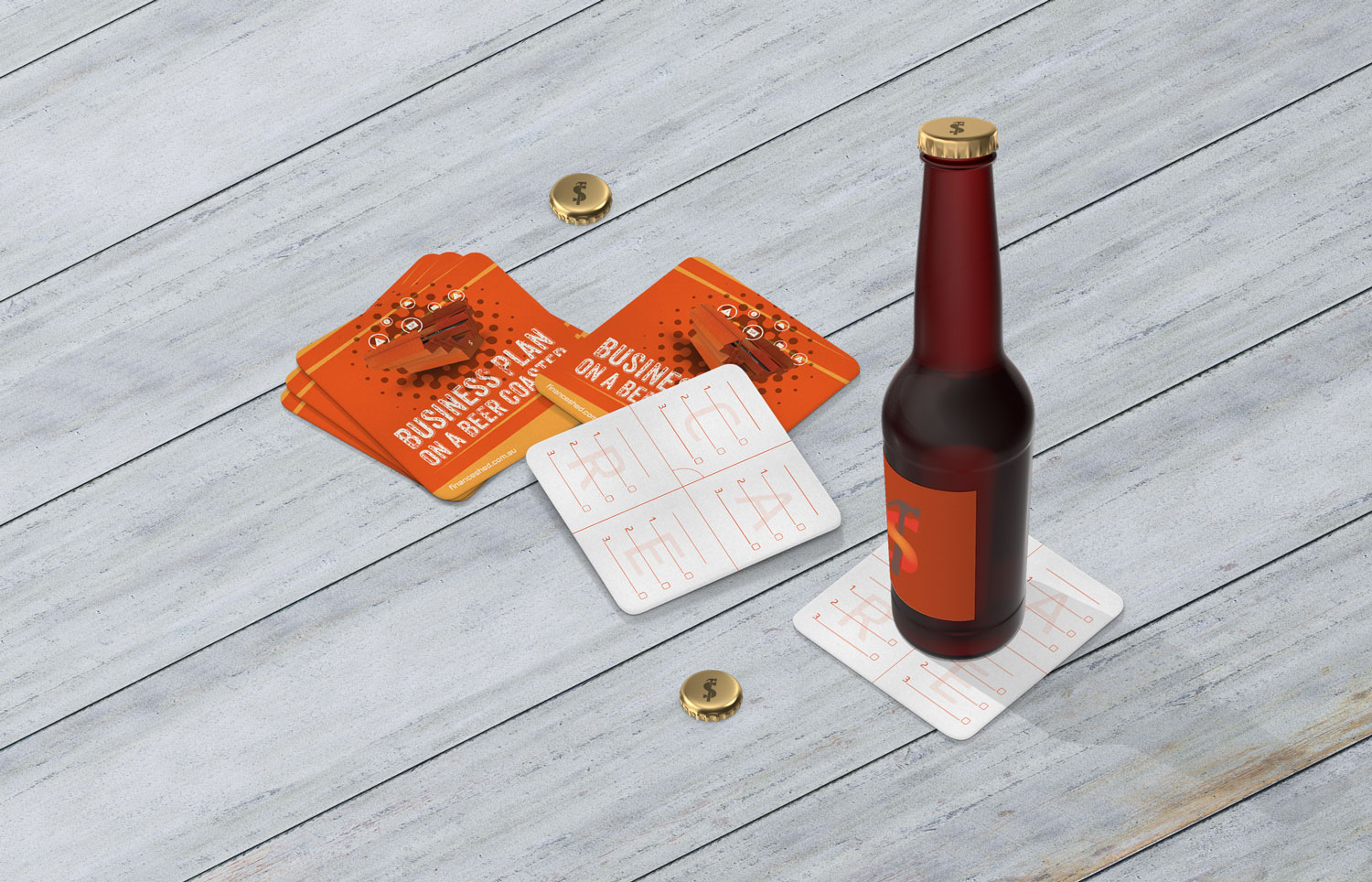 Finance Shed Coasters