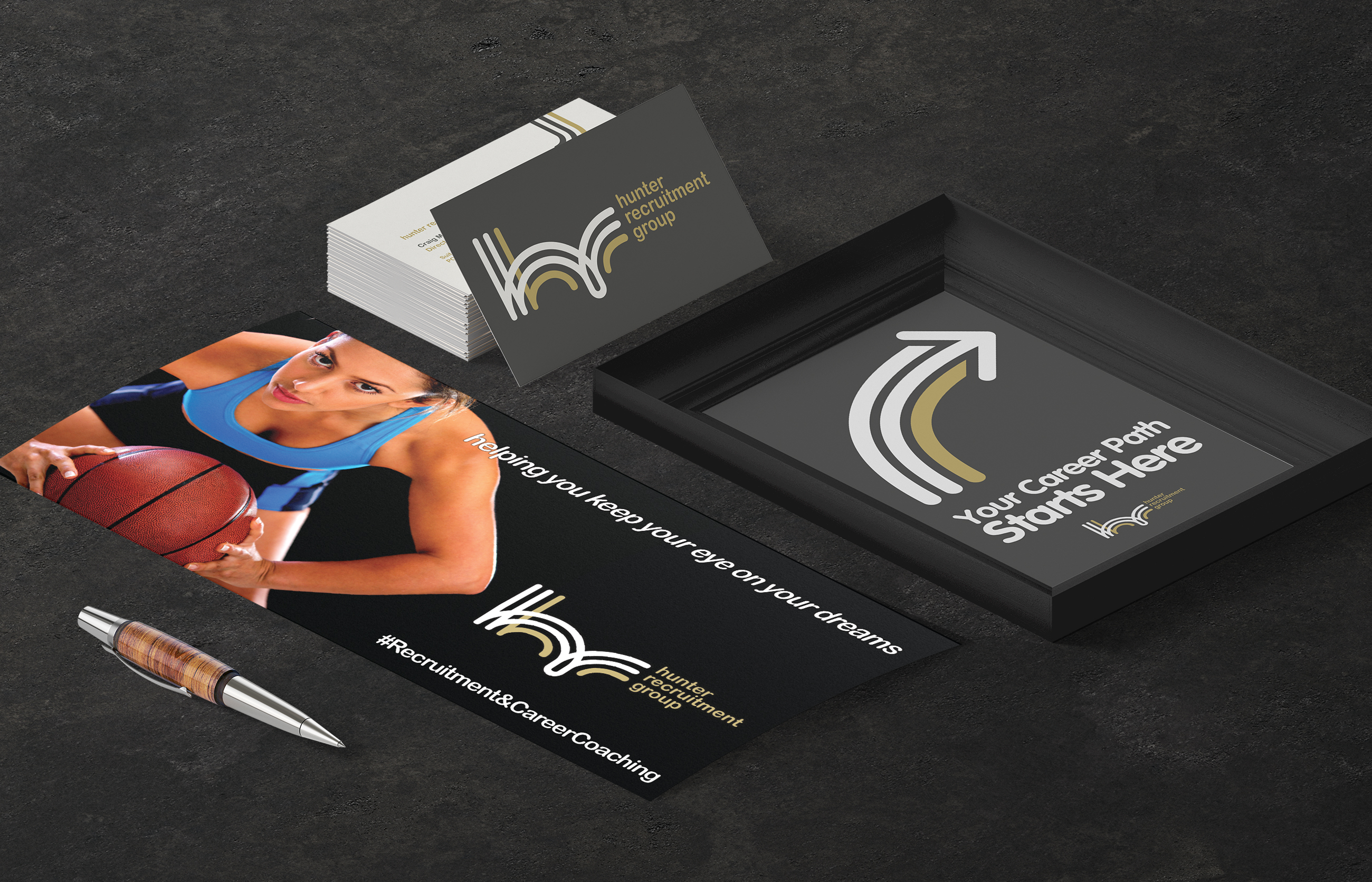 Hunter Recruitment Group Stationery