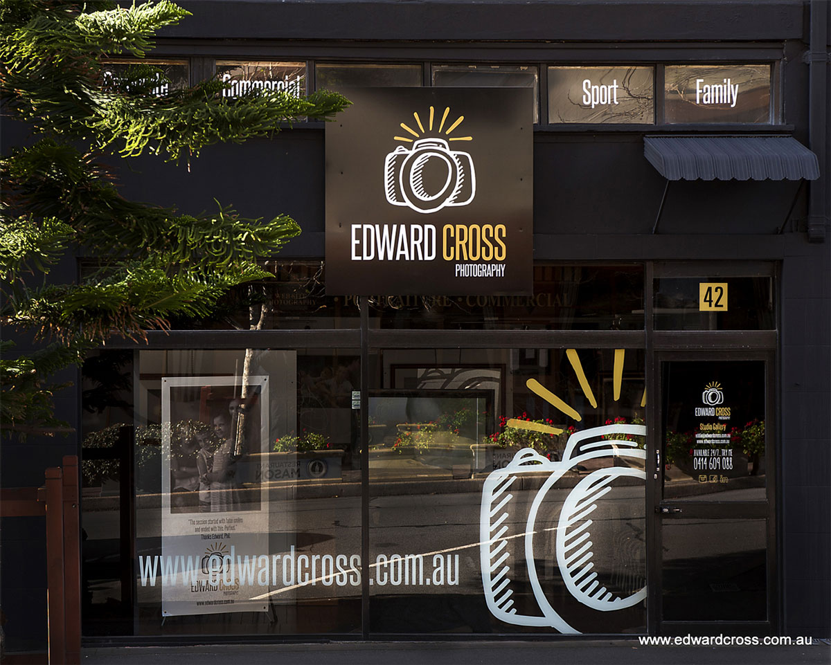 Edward Cross Signage