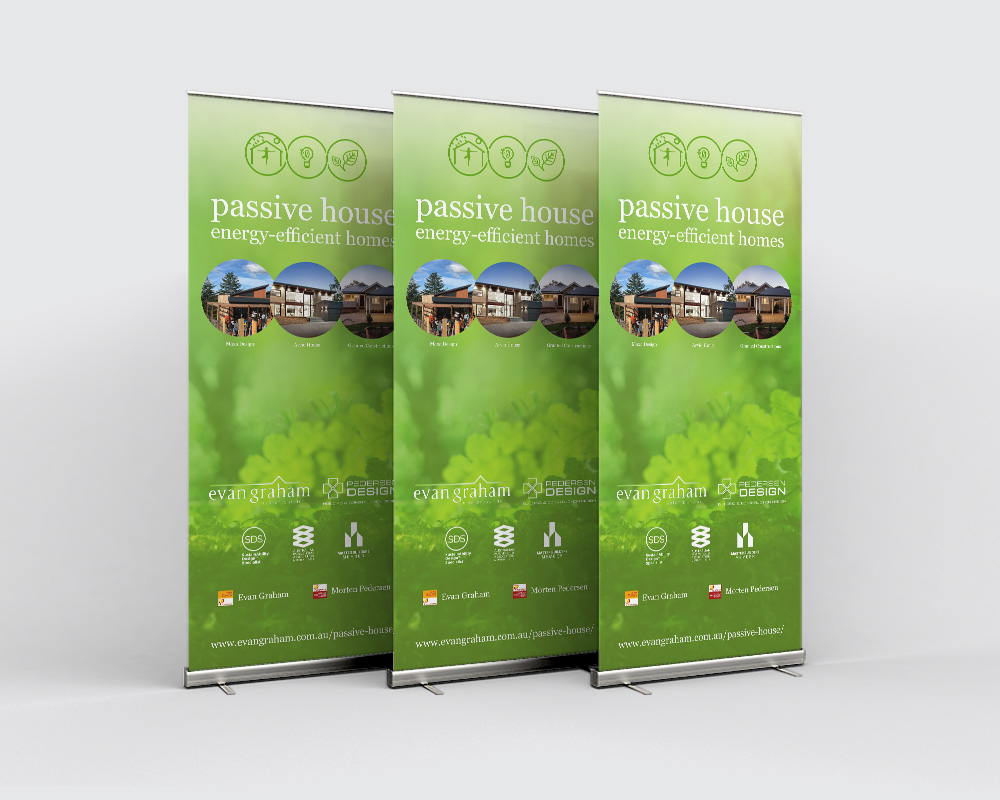 Evan Graham Master Builder Pull-up Banners