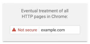 Google HTTP Eventual Warning