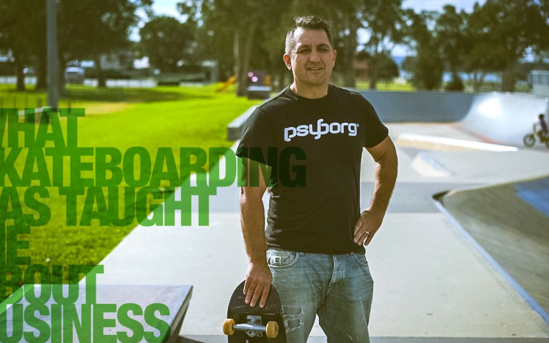 What I've learned about Business from Skateboarding