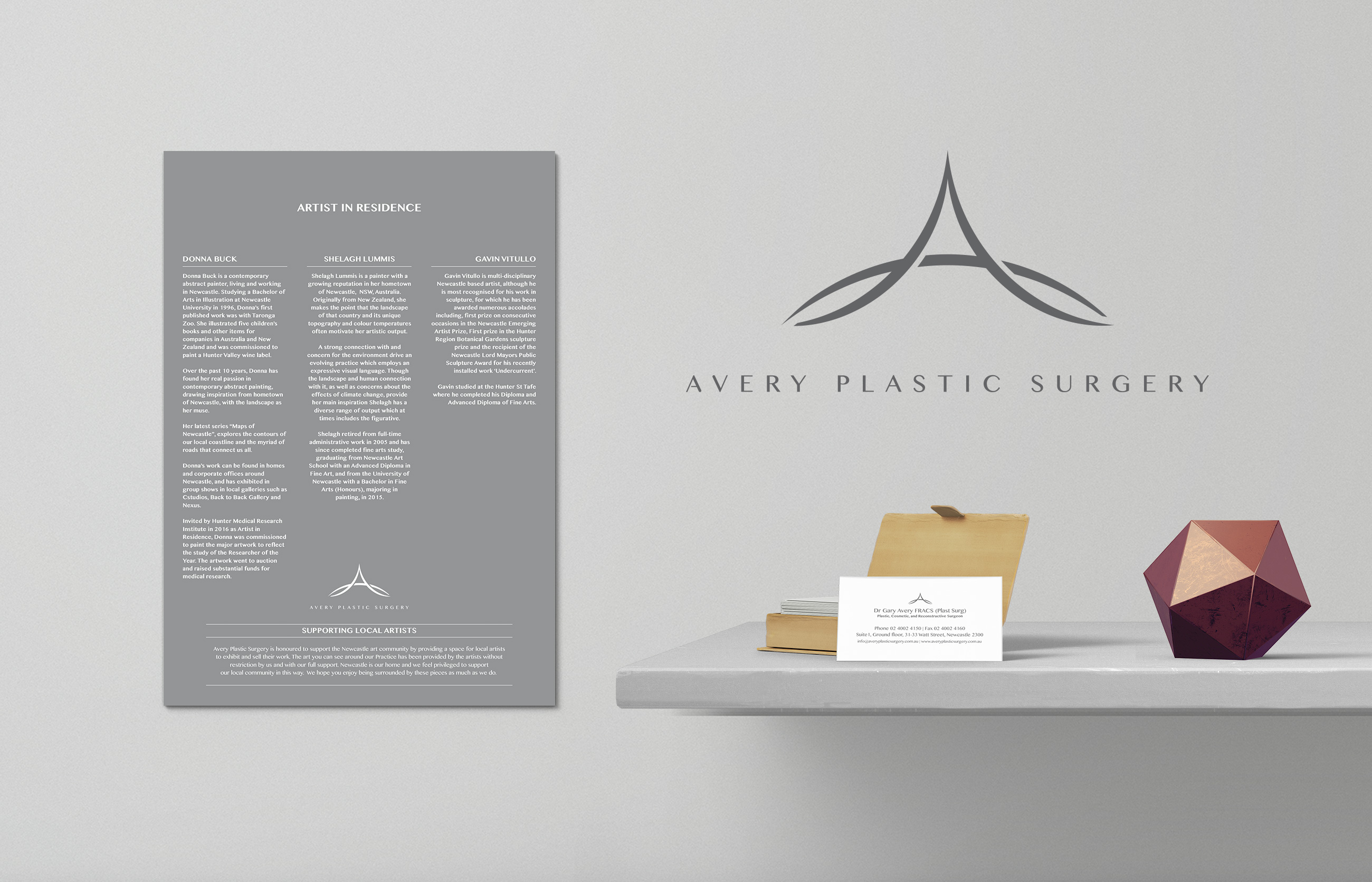 Avery Plastic Surgery Signage