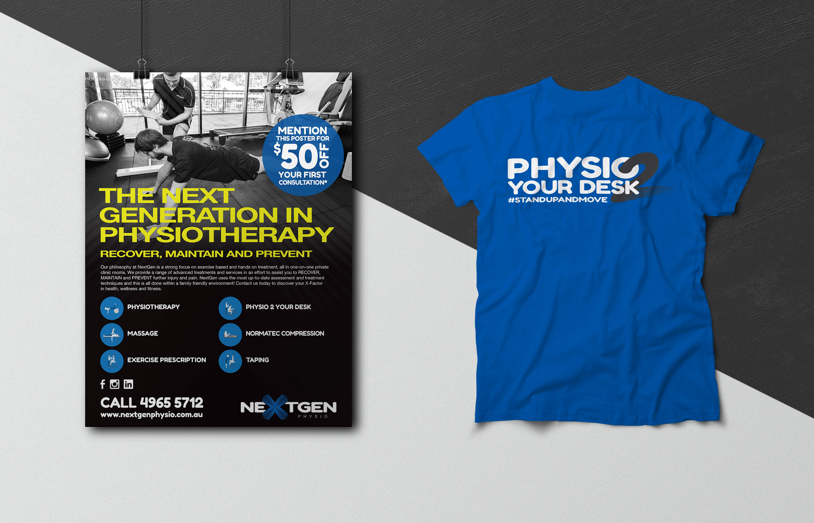 NextGen Physiotherapy Stationery