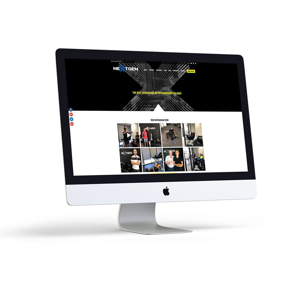 NextGen Physiotherapy Website