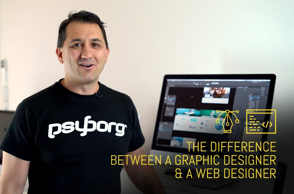 The difference between a graphic designer and a web designer