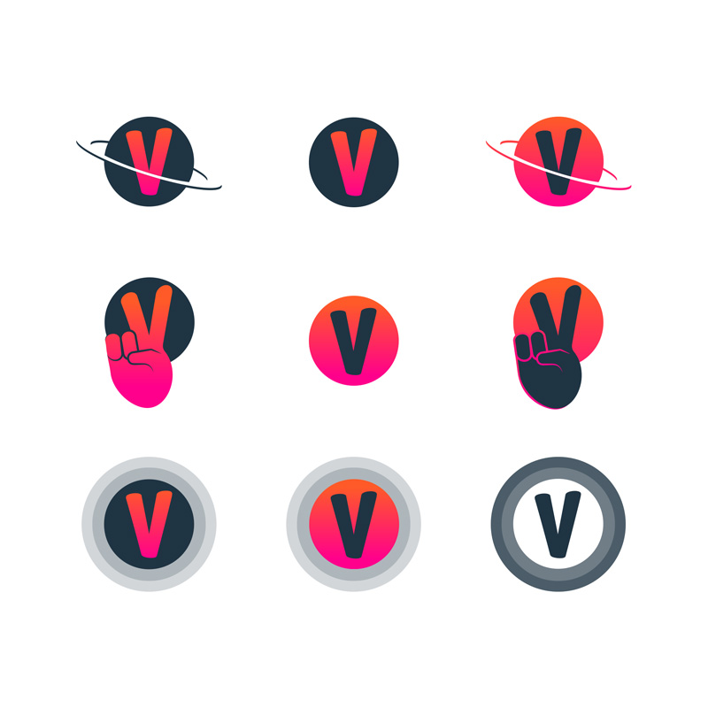Vicinity Marketing Brand Icons