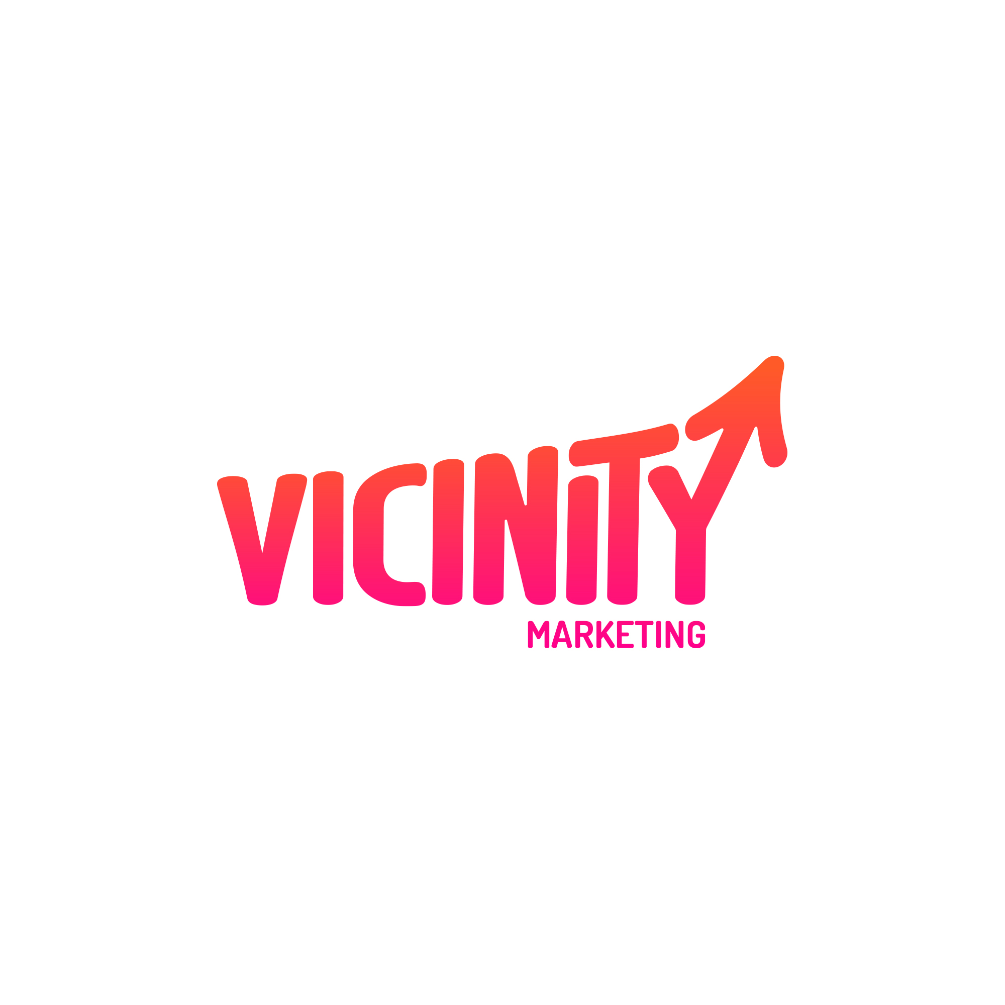 Vicinity Marketing on White