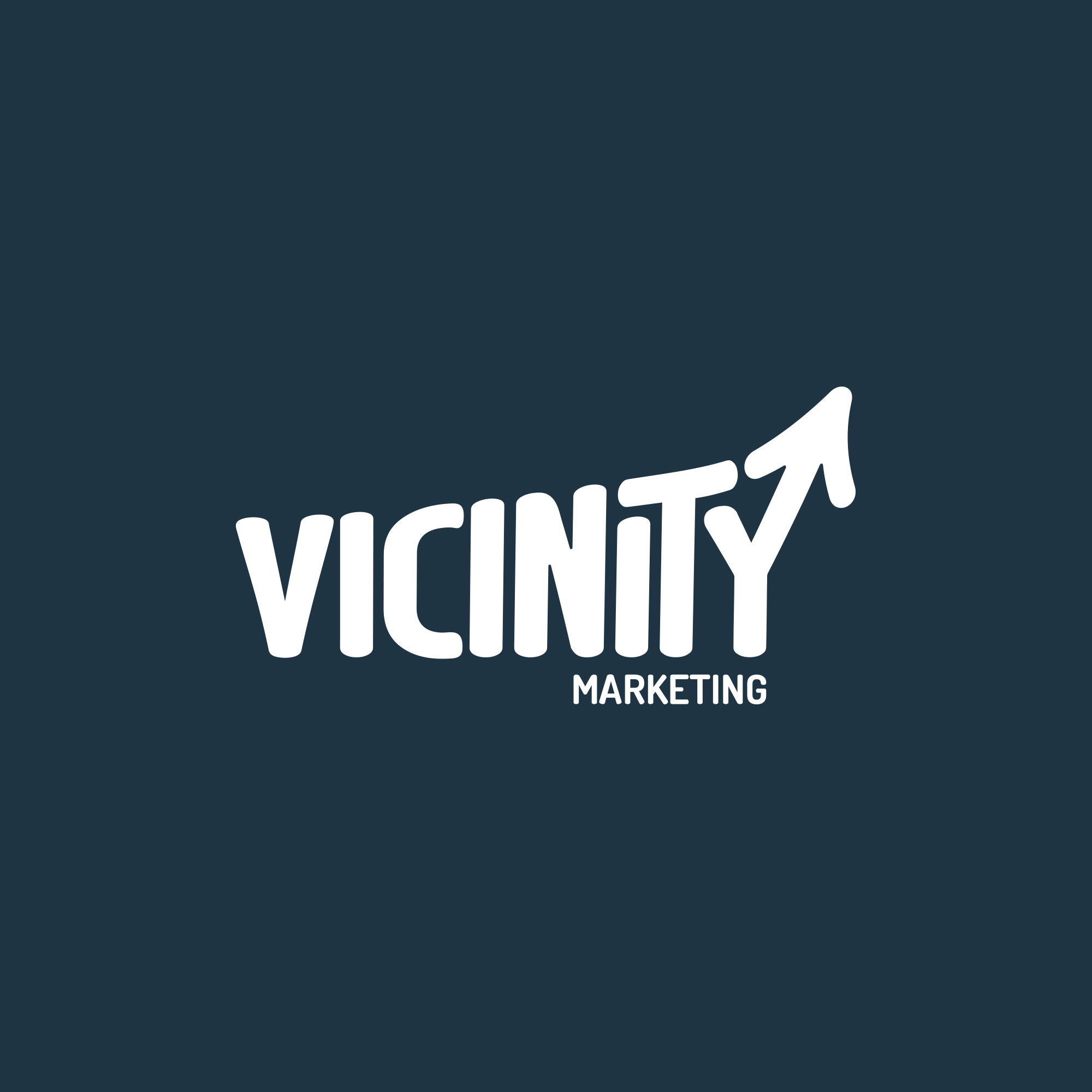 Vicinity Marketing on Blue