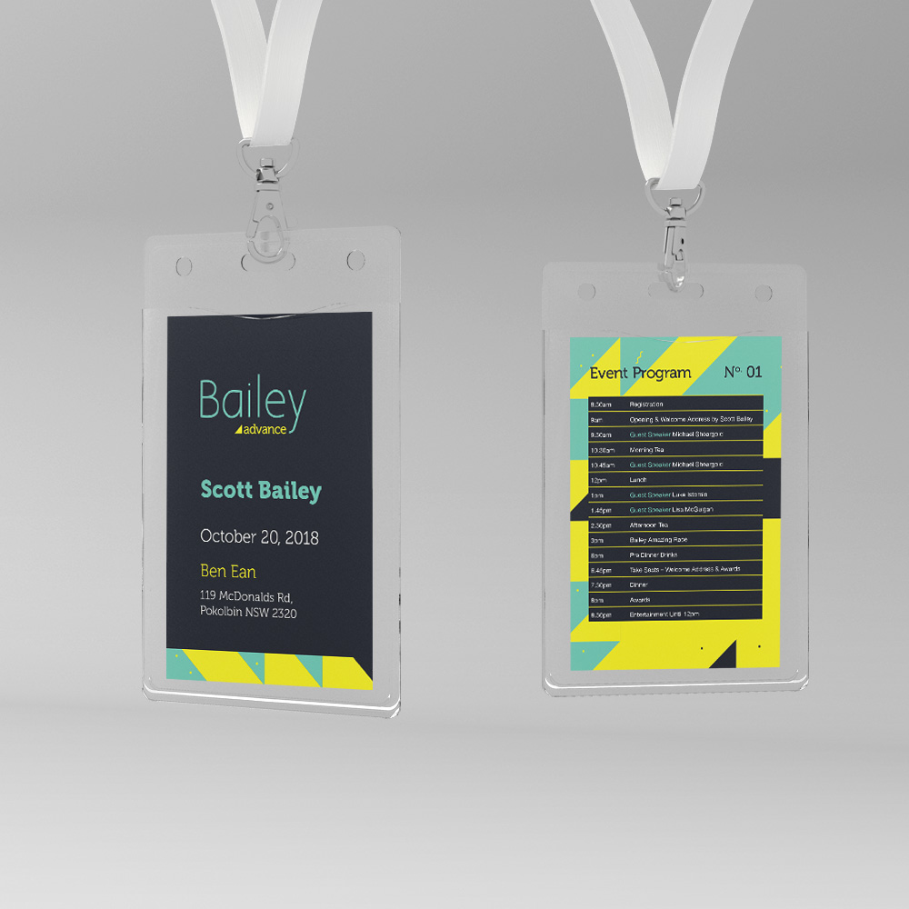 Bailey Advance Lanyards