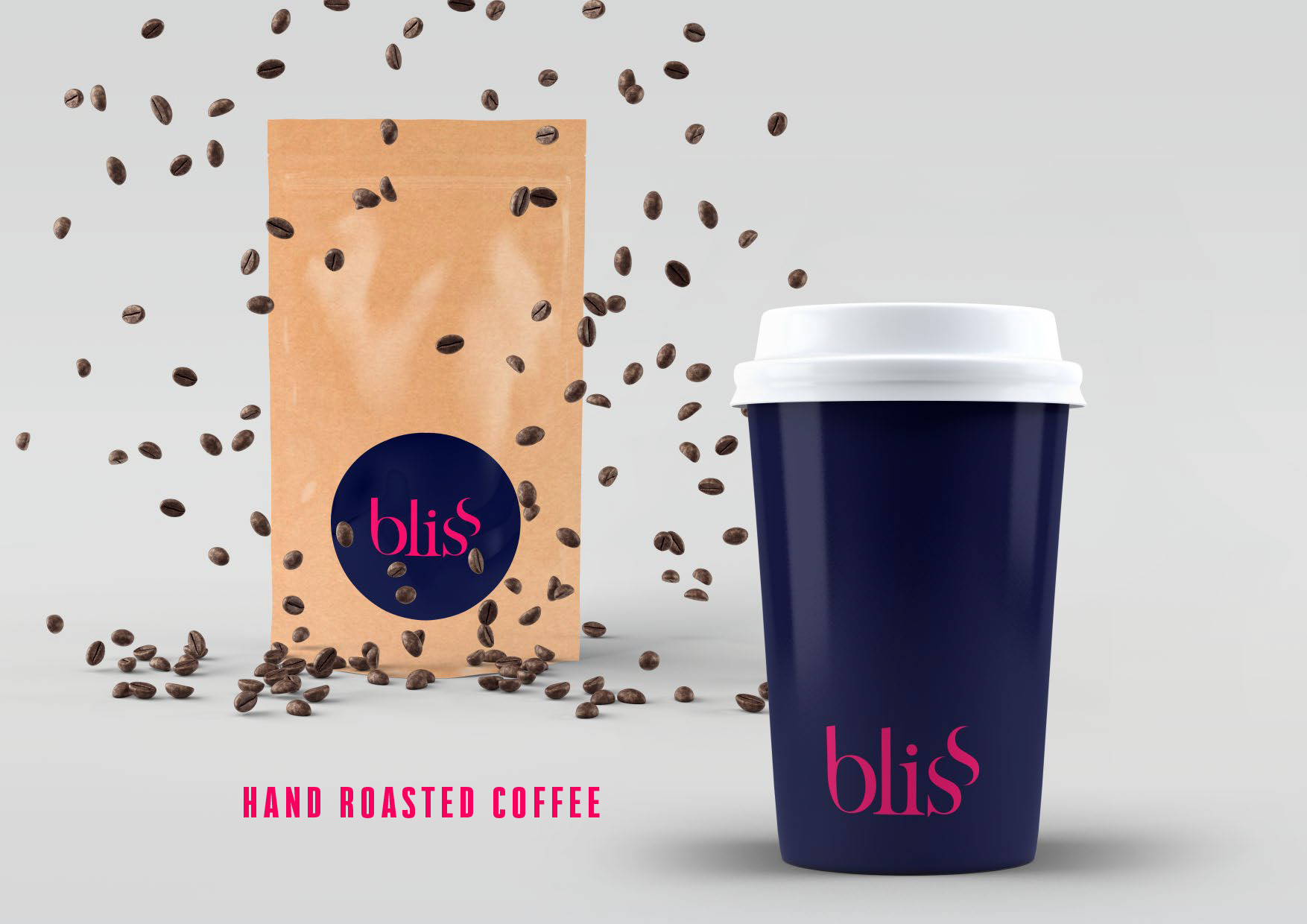 Bliss Coffee Roasters Design