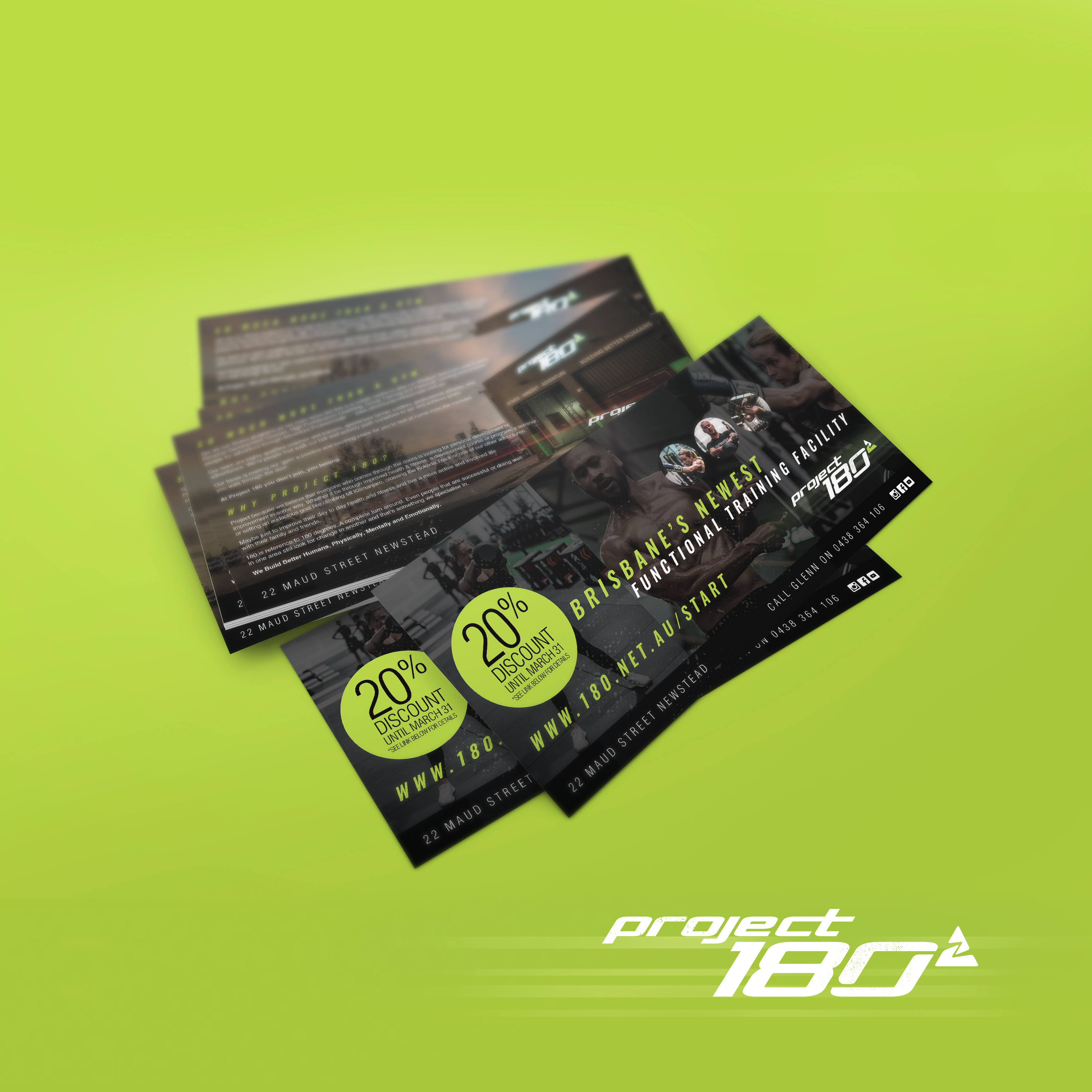 Project180 Flyers