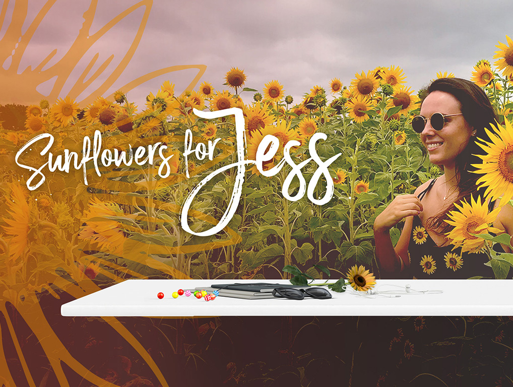 Sunflowers for Jess