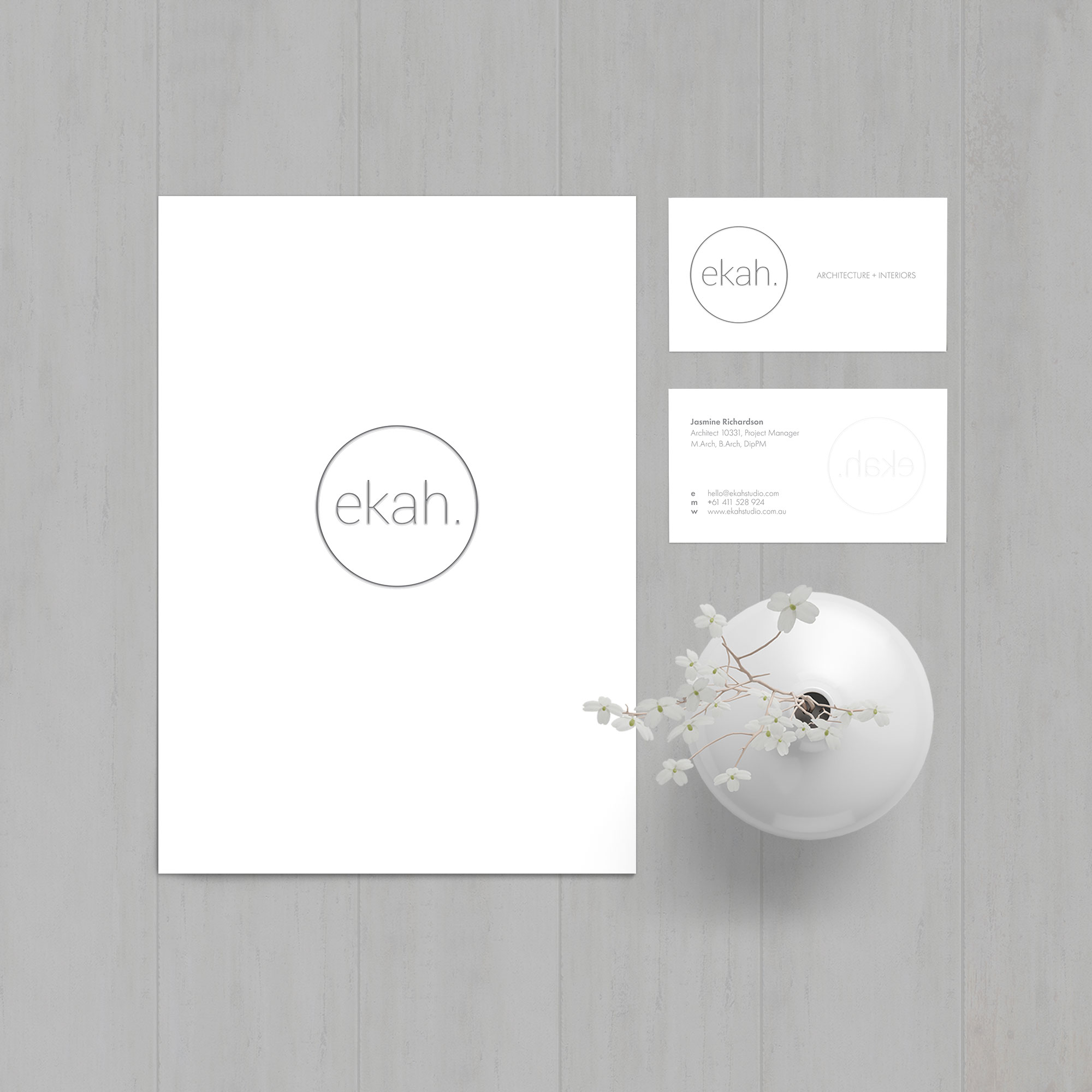 Ekah Studio Stationery