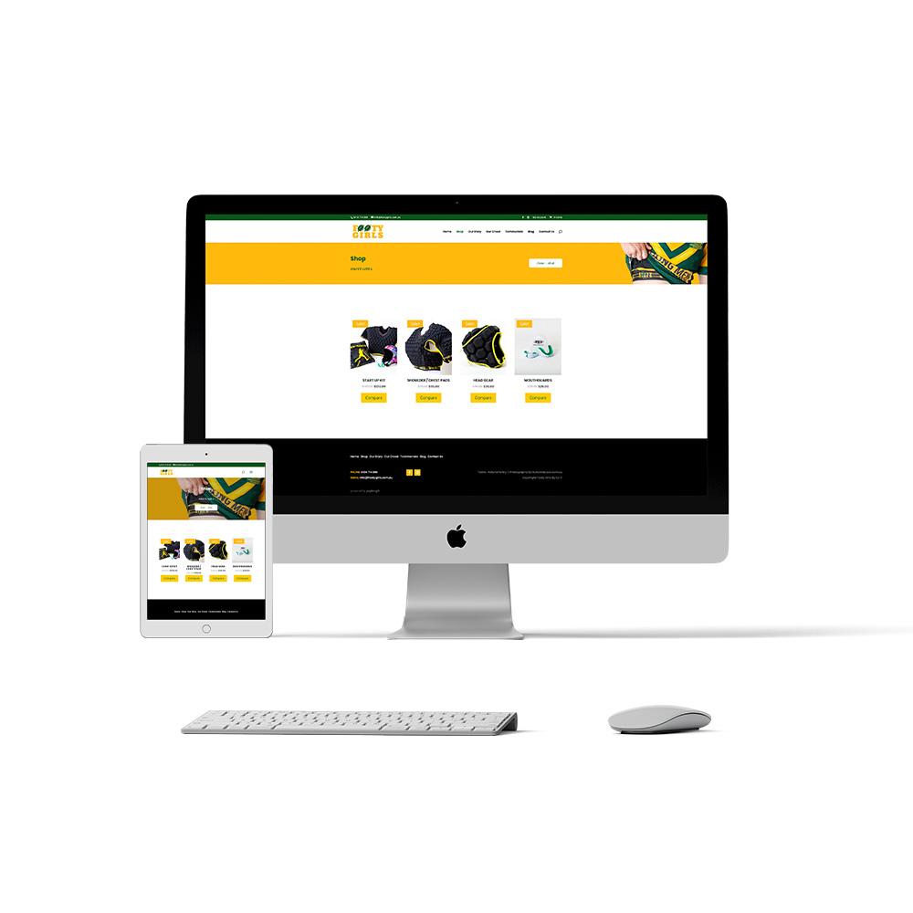 Footy Girls Website