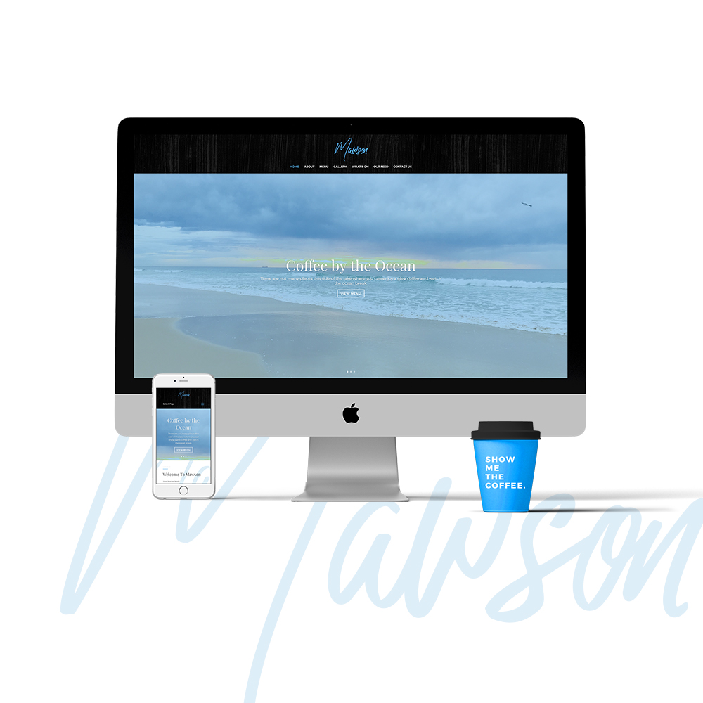 Mawson Restaurant Website