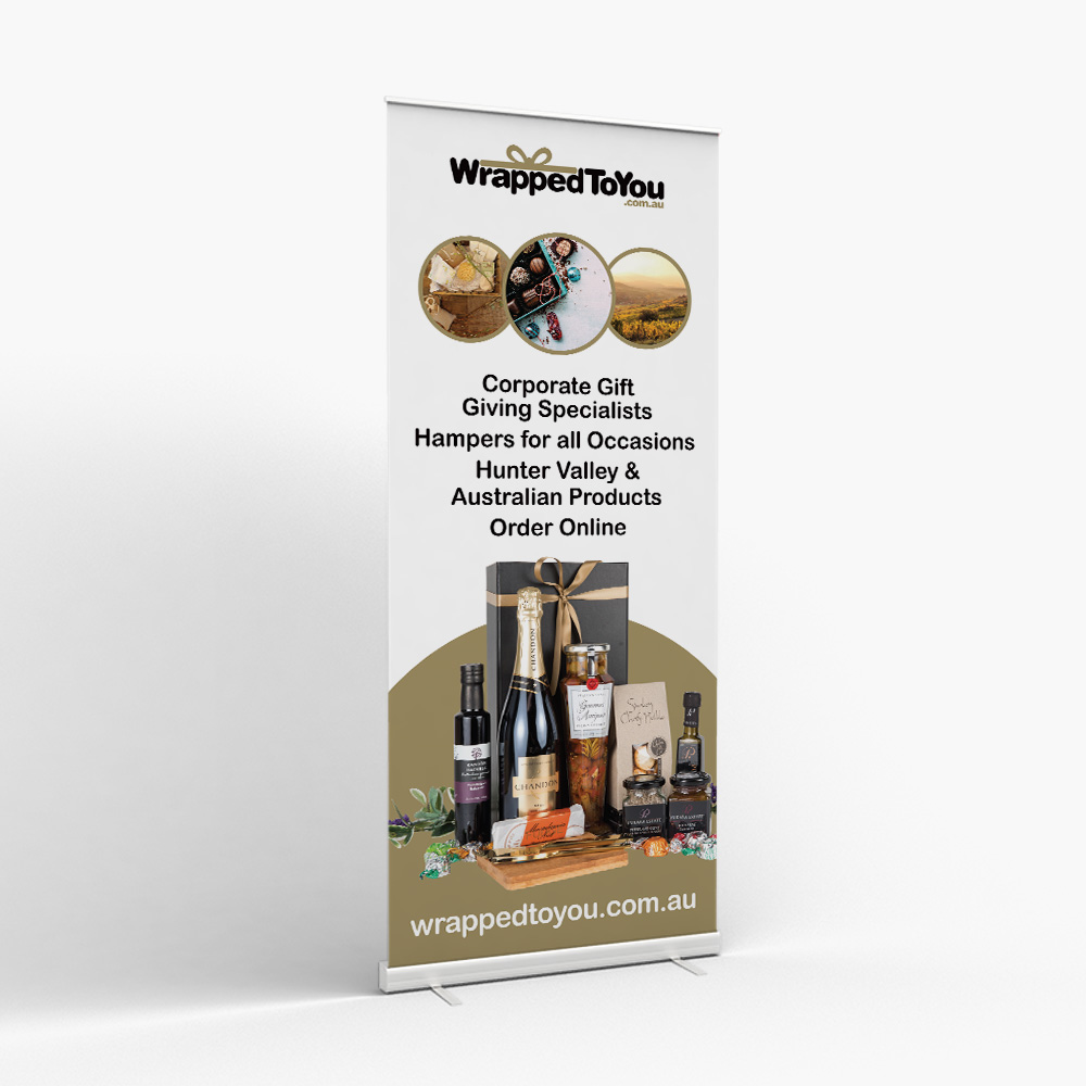 Wrapped to You Pull-up Banner