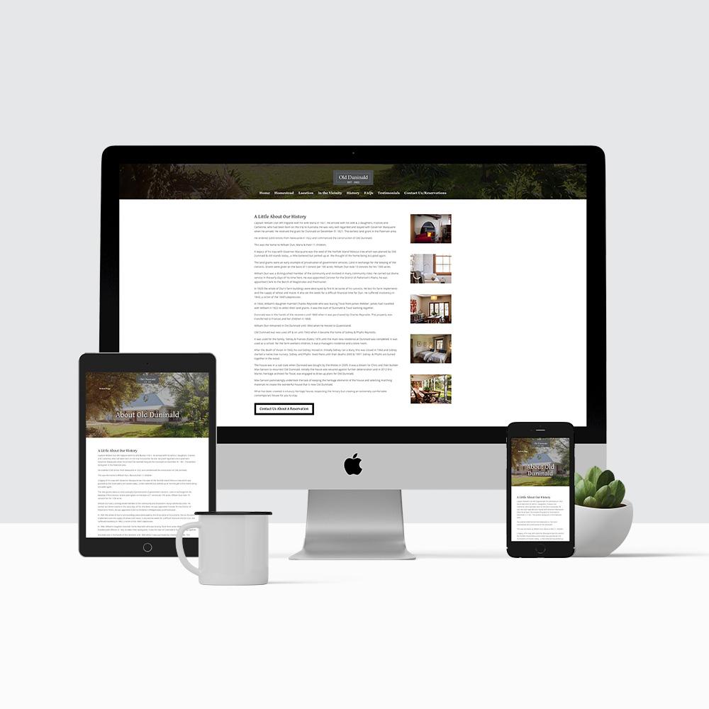 Old Duninald Website
