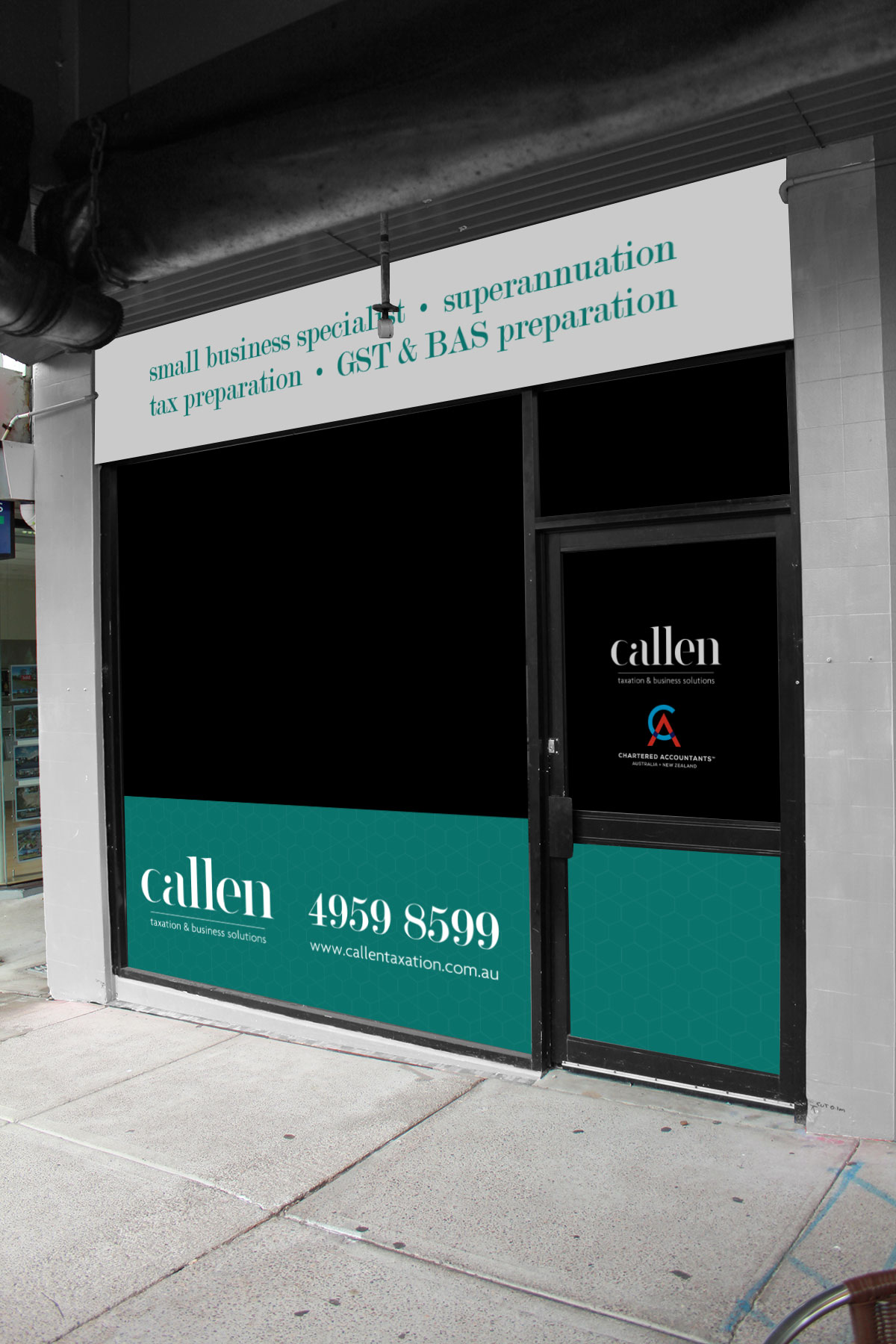 Callen Taxation & Business Solutions Signage