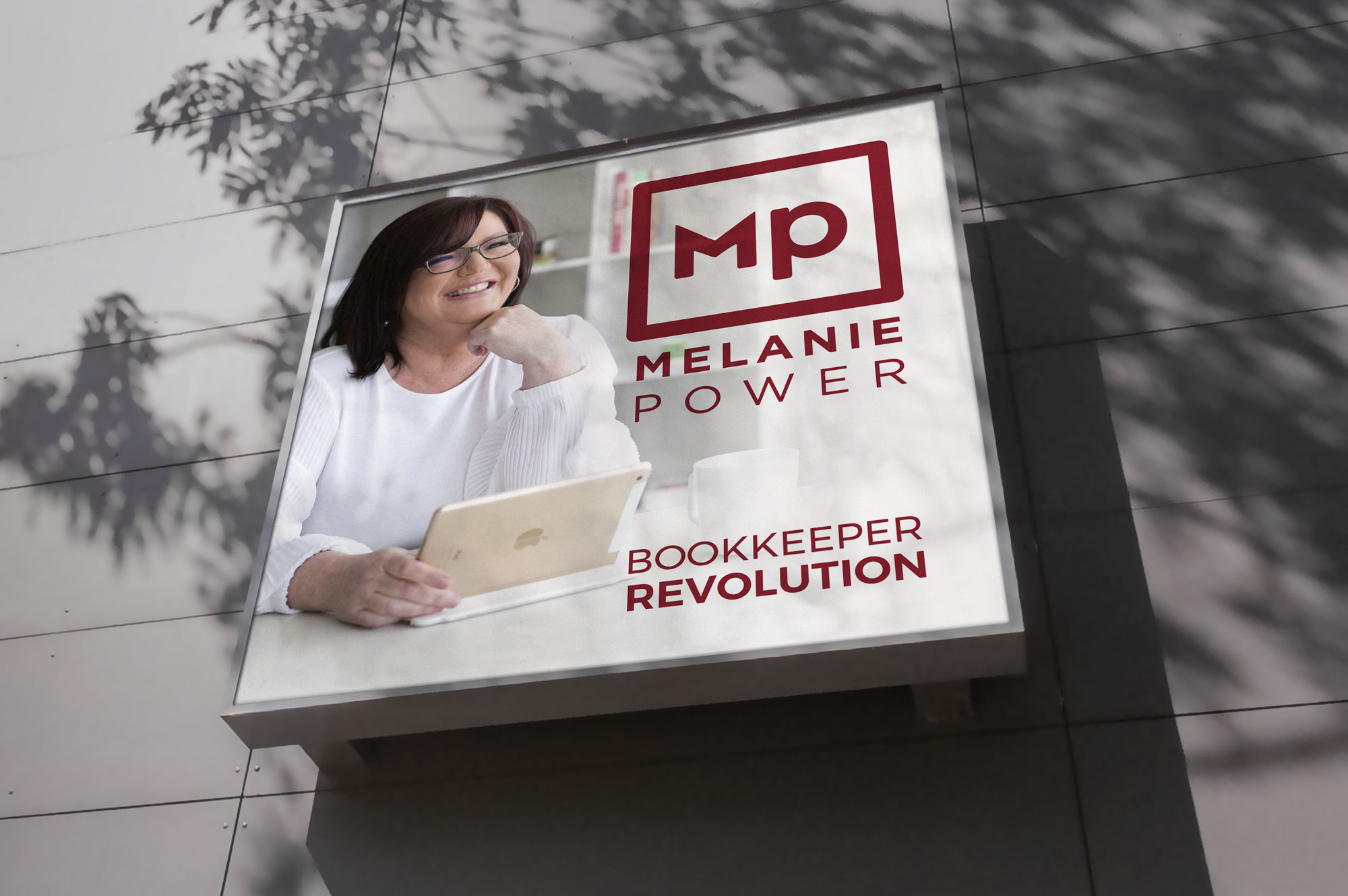Melanie Power Expo Sign