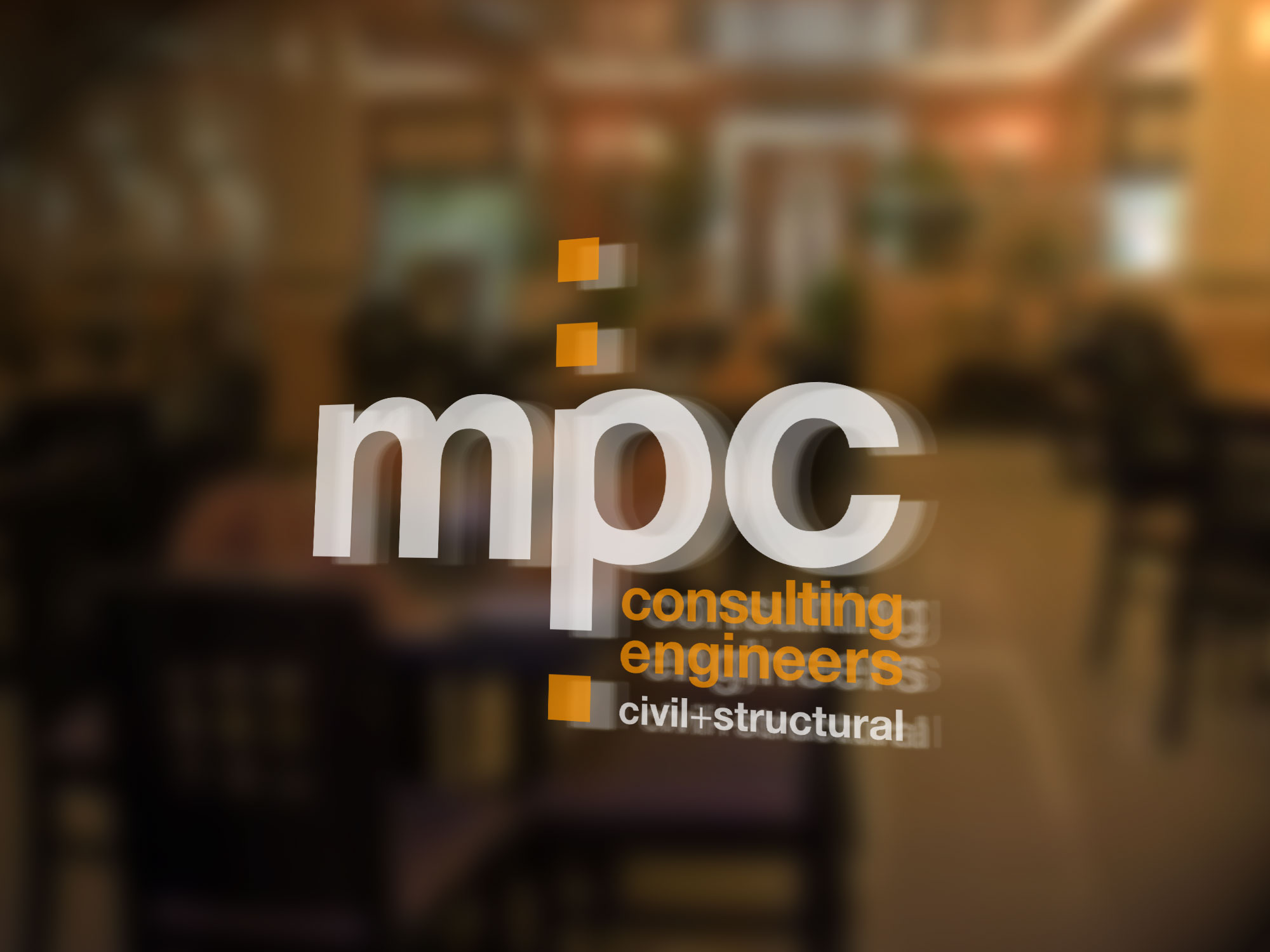 MPC Consulting Engineers Door Signage