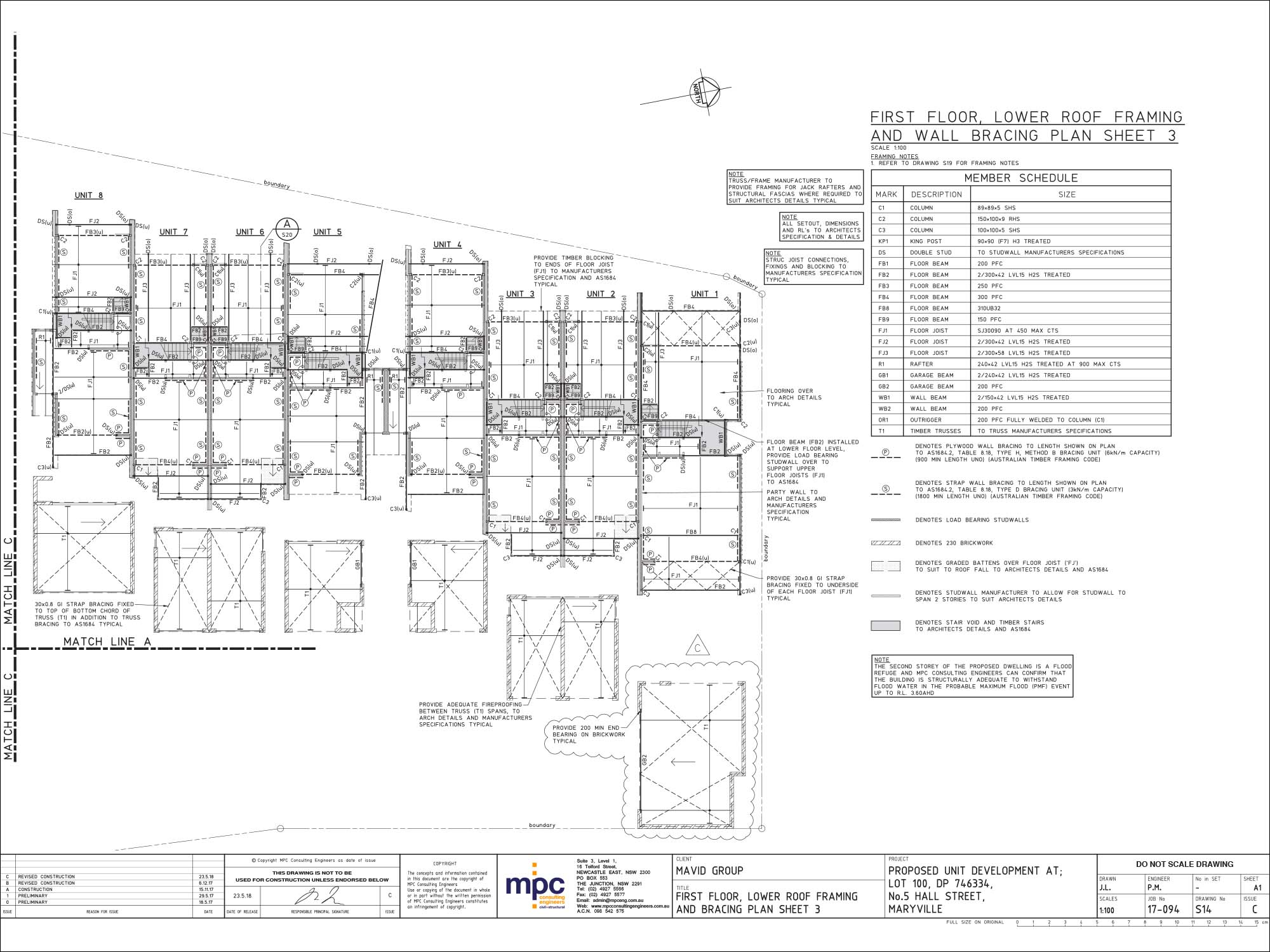 MPC Consulting Engineers Floor Plan