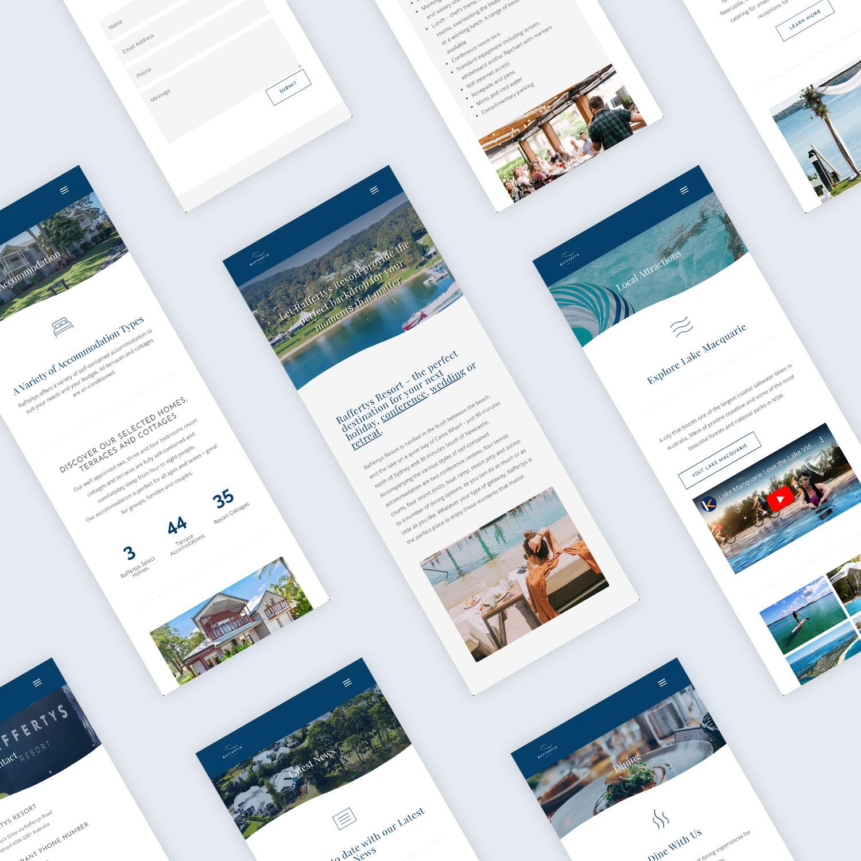 Raffertys Resort Website