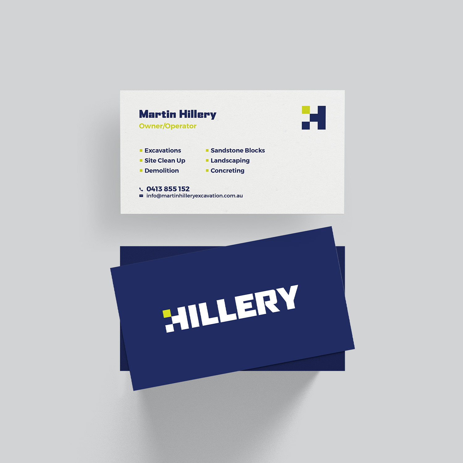 Hillery Business Cards