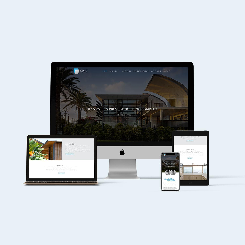 Pratt Projects Website