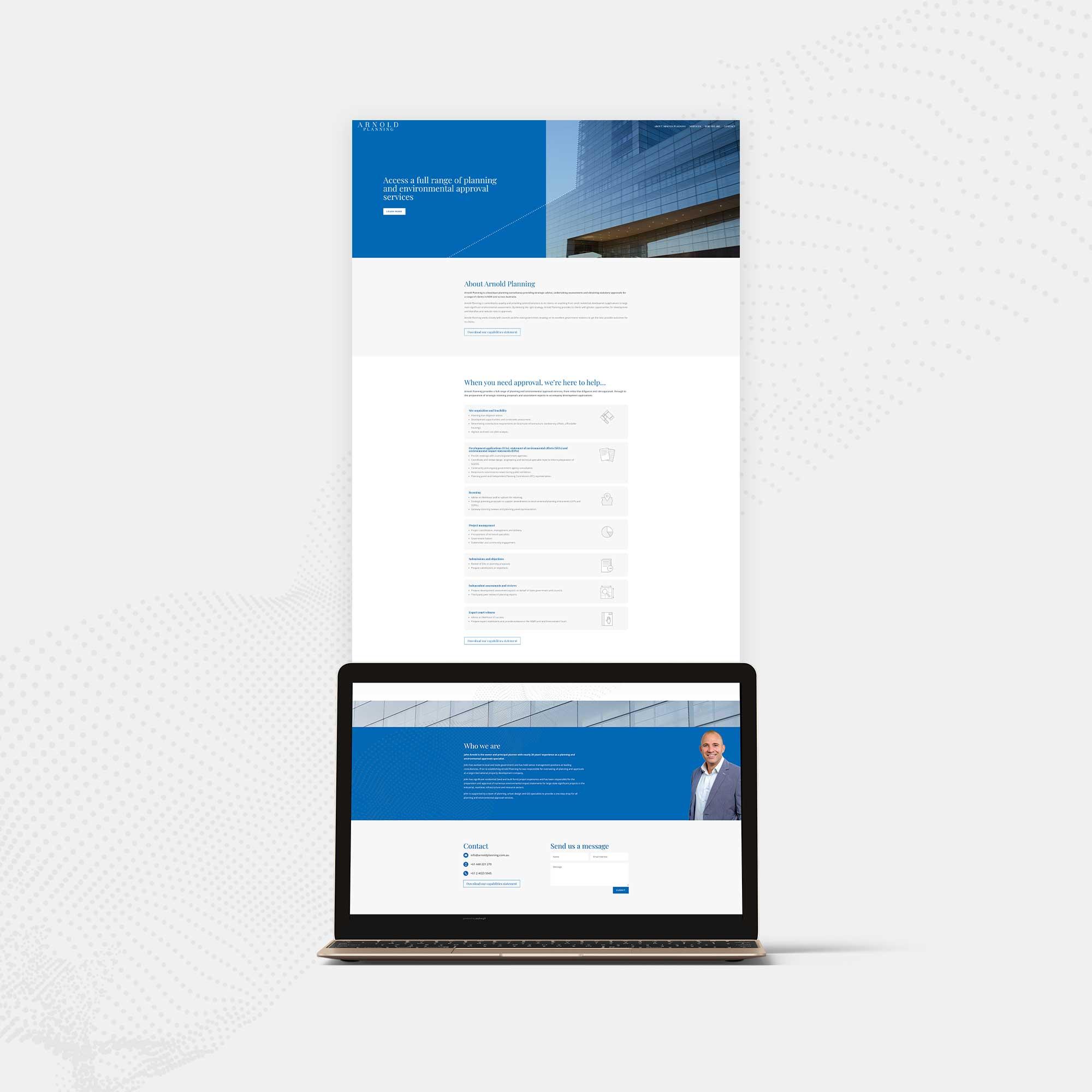Arnold Planning Website