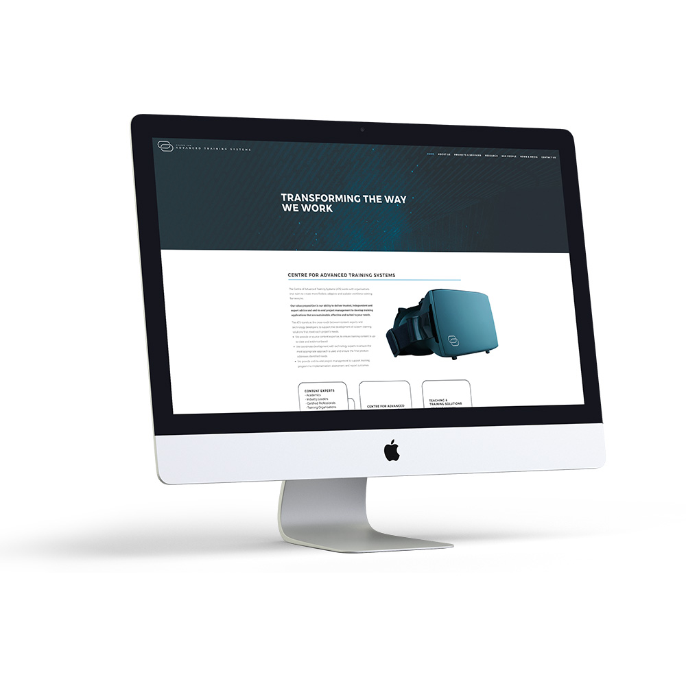 Centre for Advanced Training Systems Website