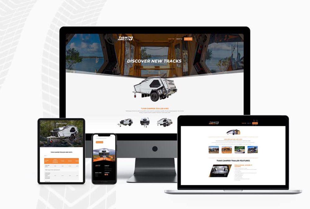 Website Design for Tvan Hire