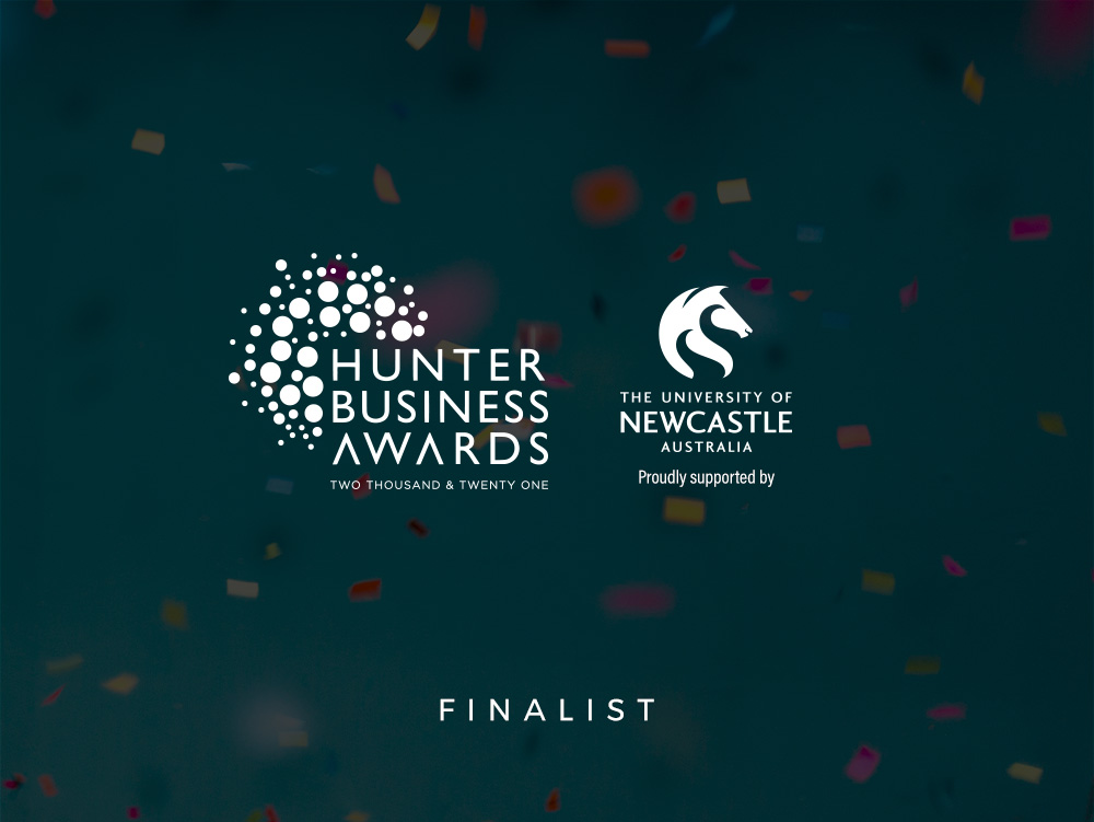 2021 Finalist for the Hunter Business Award