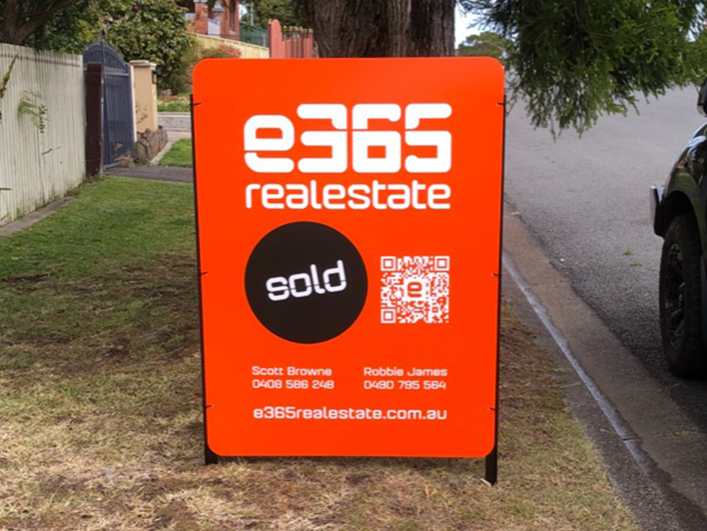 Signage Design for E365 Realestate