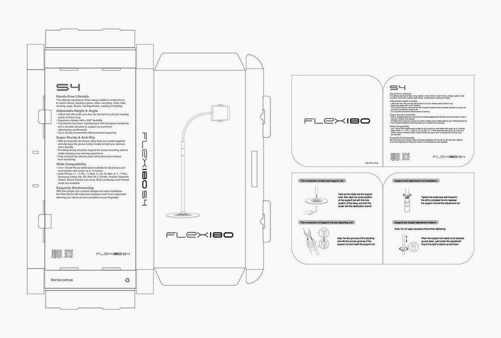 Packaging Design for Flex180