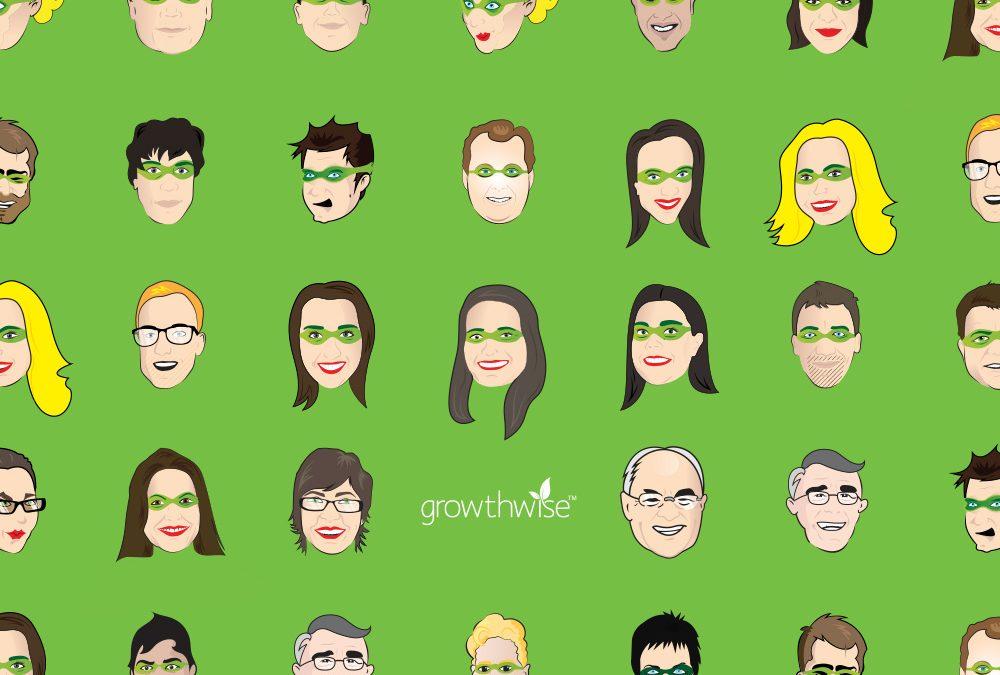 Superhero Illustrations for Growthwise