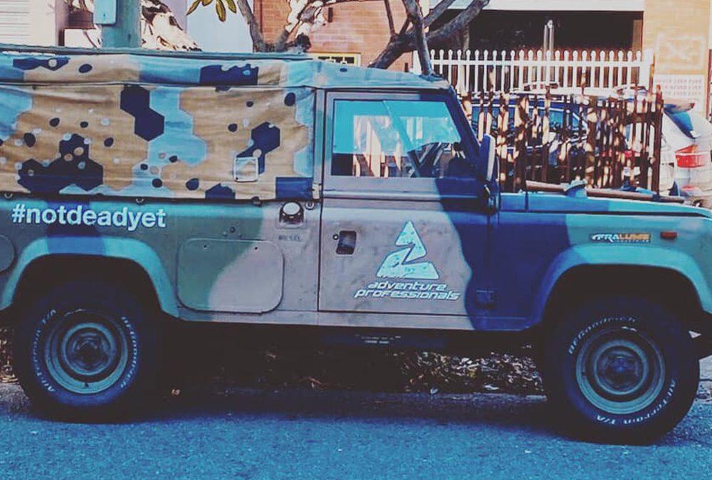 Vehicle Signage for Adventure Professionals